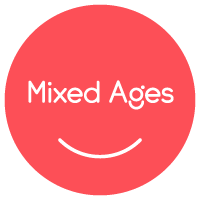 Music Together Mixed Ages classes are for kids from birth to age five with a parent or caregiver.